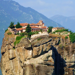 Holy Trinity Monastery - Meteora by Carole Walle - Buildings & Architecture Public & Historical (  )
