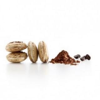 Coffee Macarons Filled with Mascarpone (Tiramisu) Recipe
