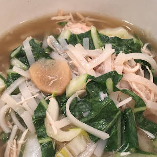 Chicken Pho in a Slow Cooker.