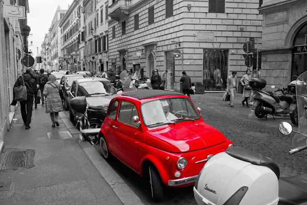 Rome in Red di Andrea Secco