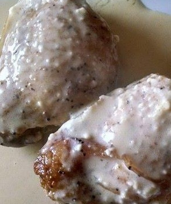Chicken With Parmesan Cheese Sauce Recipe