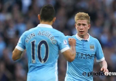 Manchester City, avec KDB passeur, reste dans le sillage de son rival