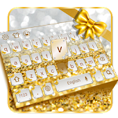 Gold diamond keyboard