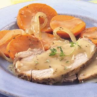 Slow-Cooker Winter Pork Roast Dinner Recipe
