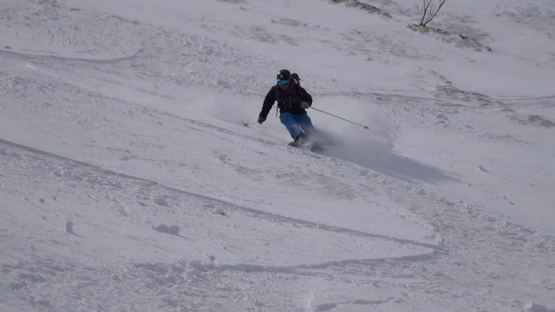 【八方尾根スキー場】バックカントリー・スキー⑤
