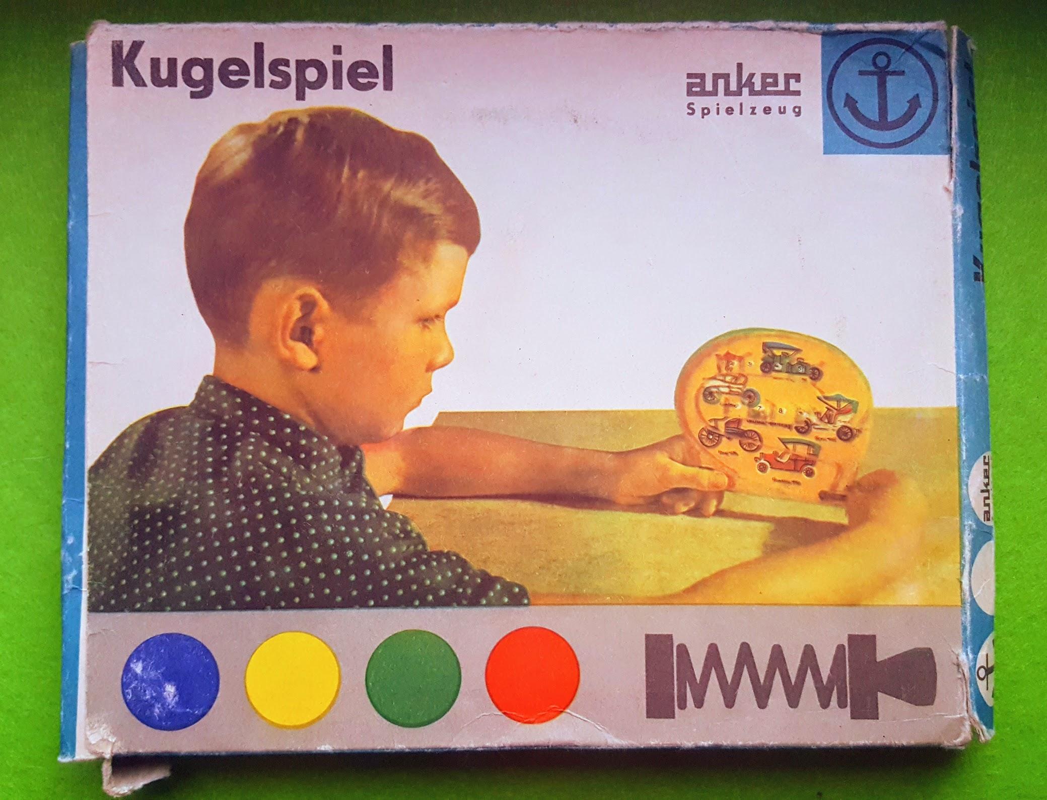 Schnipps-Kugelspiel - Anker