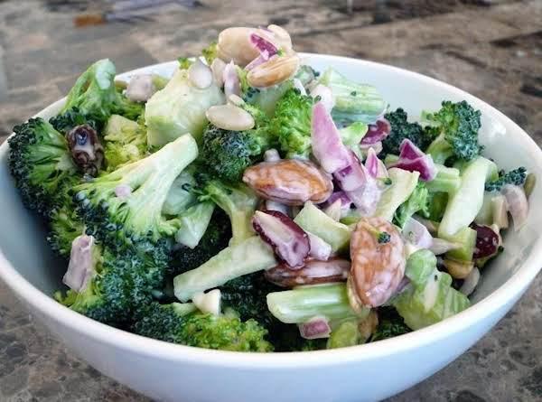 Sunshine Broccoli Salad Recipe