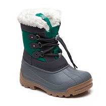 Armani Junior Fully Lined Snow Boot BOOTS