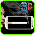 Virtual cigarette smoke Prank icon