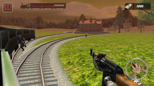 Zombies Train Attack : 3D FPS