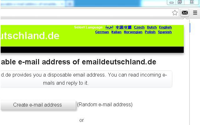 emaildeutschland.de - Disposable Email