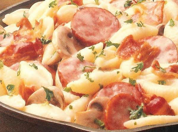 Polish Sausage & Pasta Recipe
