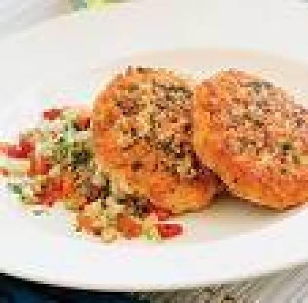 Oriental Salmon Cakes