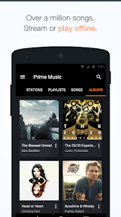 Amazon Music with Prime Music - screenshot thumbnail
