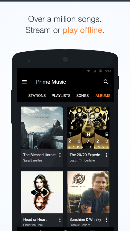Amazon Music with Prime Music- screenshot