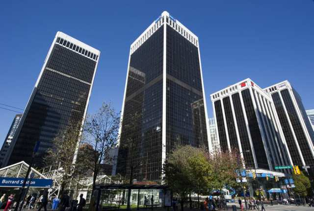 Anbang Insurance Group bought Vancouver's downtown Bentall Centre (above) for just over $1 billion.