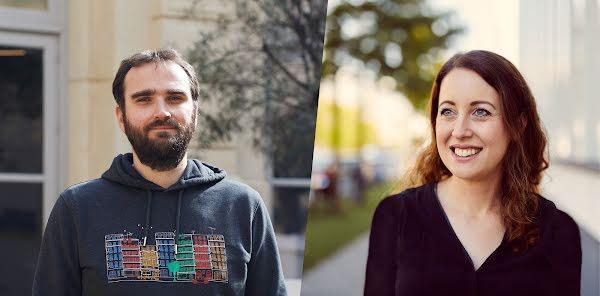 Sabine Borsay und David Roger von Google entwickeln den Chrome Browser weiter