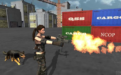 Secret Agent Lara Croft 2 : Front Line Commando - náhled