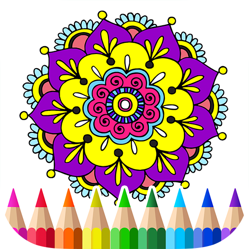 Free Coloring Book for Adult 娛樂 LOGO-玩APPs