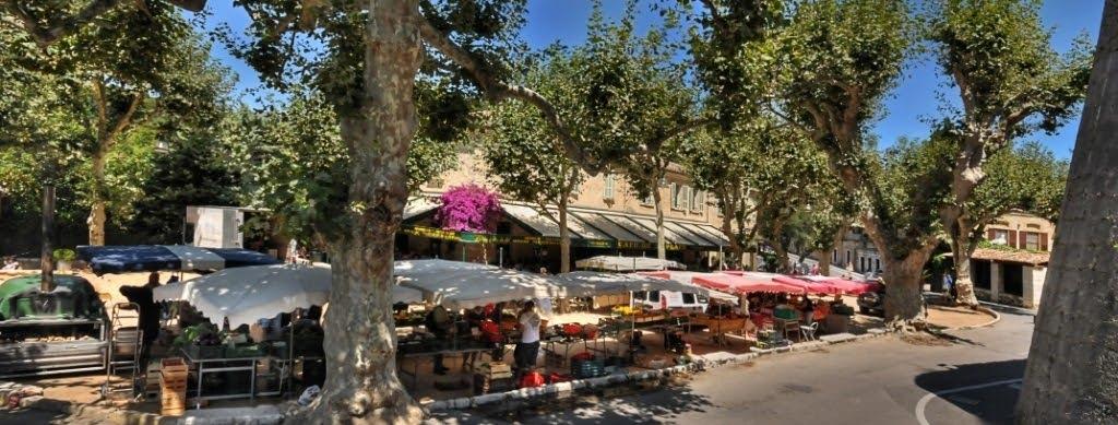 Рынки в Сен-Поль-де-Вансе