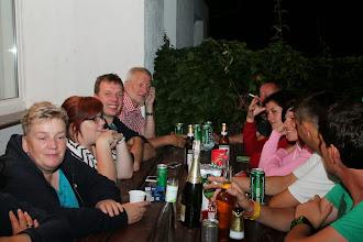Photo: Freitag abend, nach der anstrengenden langen Busfahrt, nach dem Einzug in die Bungalows...Gemeinsame gemütliche Runde.