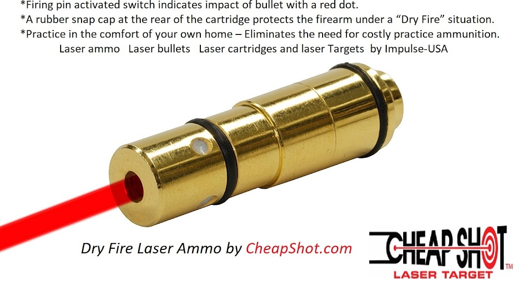 Impulse-USA Tactical Laser Training Cartridge - Sporting