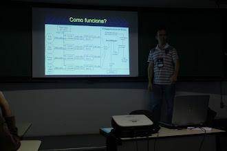 Photo: Diagrama mostrando a arquitetura do Soundstepper