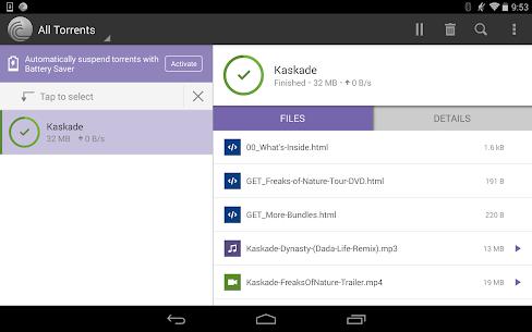 BitTorrent Pro Apk – Official Torrent Download App 7