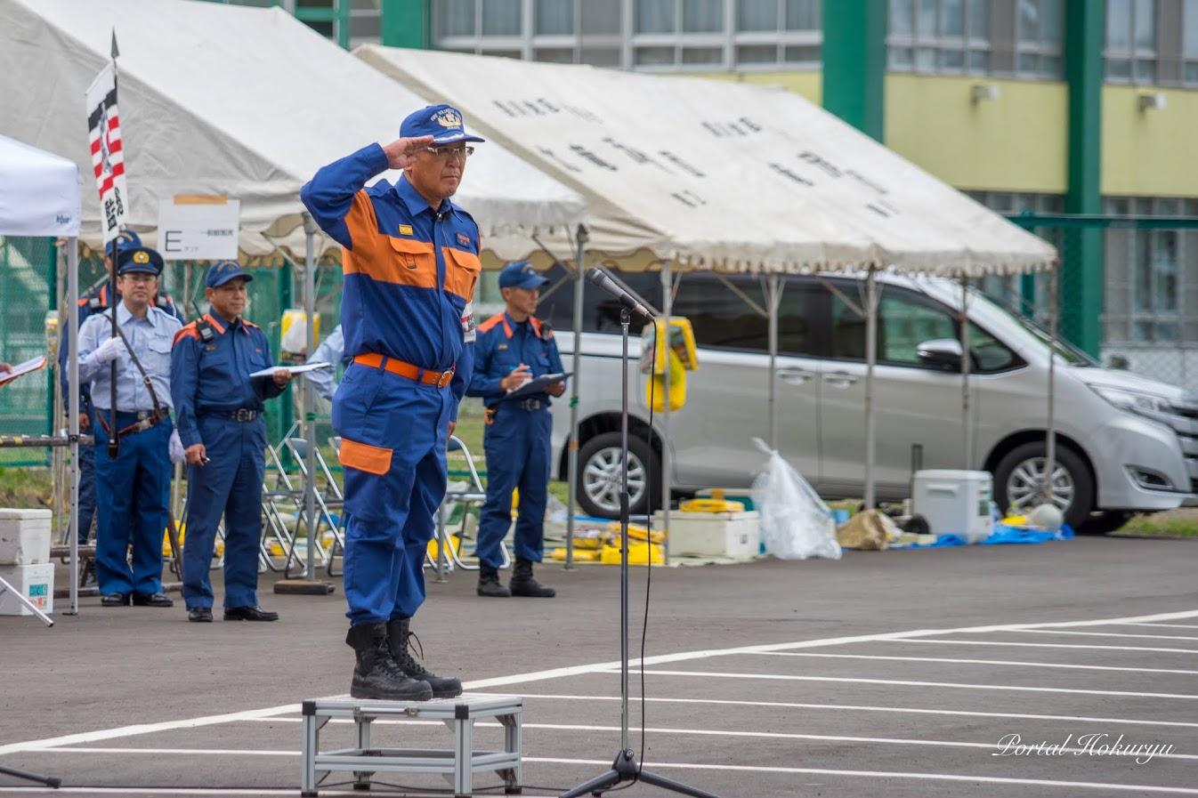 北竜消防団・中山成幸 副団長
