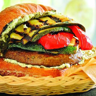 Grilled Summer Veggie Sandwiches