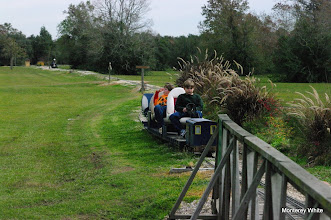 Photo: Coming into the station for lunch.   2009-1127 HALS Anniversary Meet