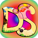 Doodle Scratch kids color draw icon