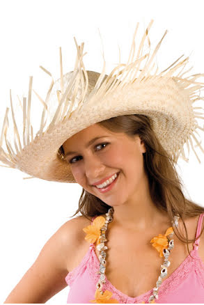 Hatt, karibisk stråhatt
