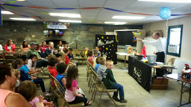 Photo: Mr. Magic performs for all ages
