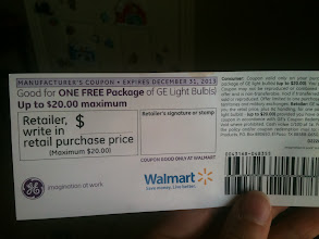 Photo: Ready to take my coupon to Walmart to shop!