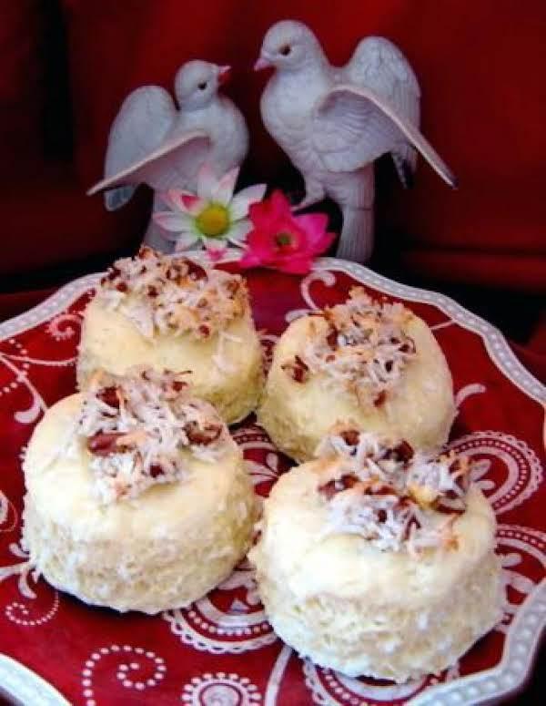 Vanilla-glazed Pecan Coconut Cookie Scones Recipe