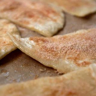 Baked Vegan Cinnamon Sugar Tortilla Chips