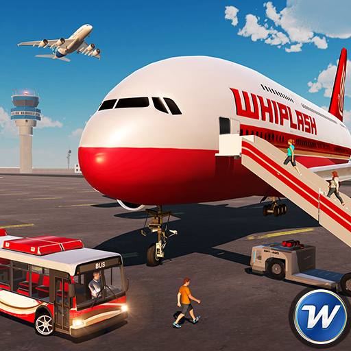 City Airplane Flight Tourist Transport Simulator APK Cracked Download