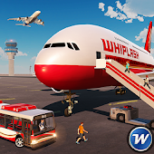 City Airplane Flight Tourist Transport Simulator