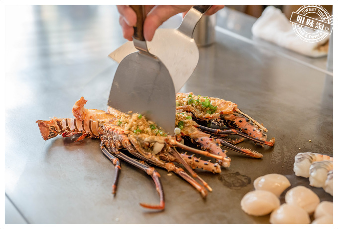 母堂鐵板燒龍蝦