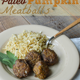 Paleo Pumpkin Meatballs