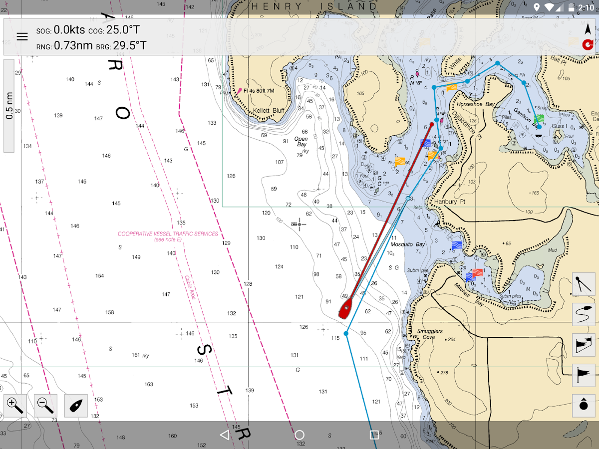MX Mariner - Marine Charts- screenshot