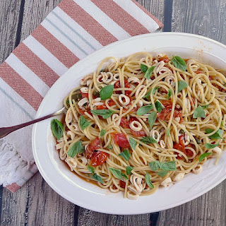 Pasta Calamari Capri Recipe