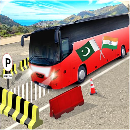 Highway Bus Parking: Modern Coach Bus Drive