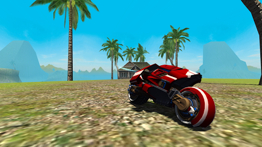 Flying Motorcycle Simulator