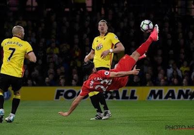 Emre Can maakt waanzinnig doelpunt voor Liverpool tegen Watford