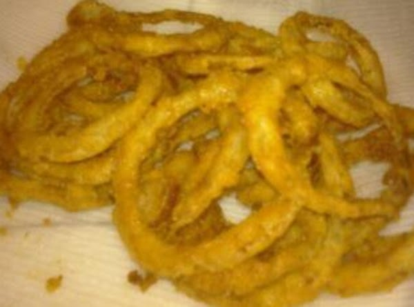 Kellys Crispy Onion Rings Recipe