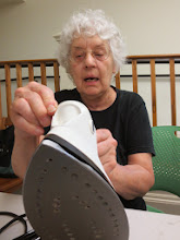 Photo: She's ironing out her problems