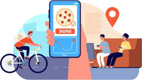 Food delivery now easy with technology