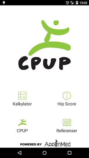 CPUP Hip Score